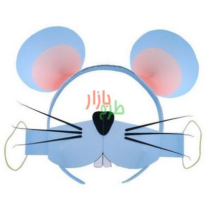 الگوی برش و آموزش ساخت تل سر و ماسک موش